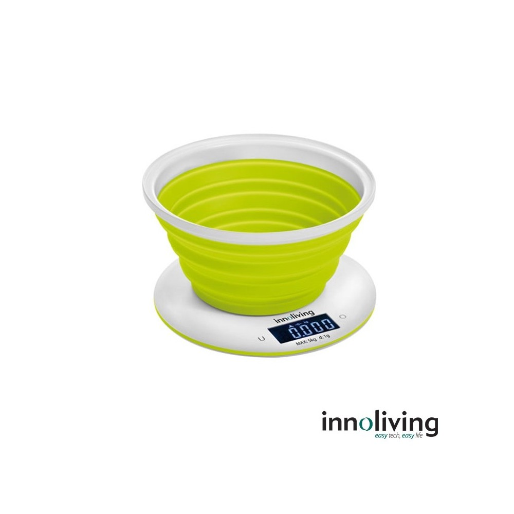INN129 - Cantar electronic de bucatarie cu bol pliabil 5 kg