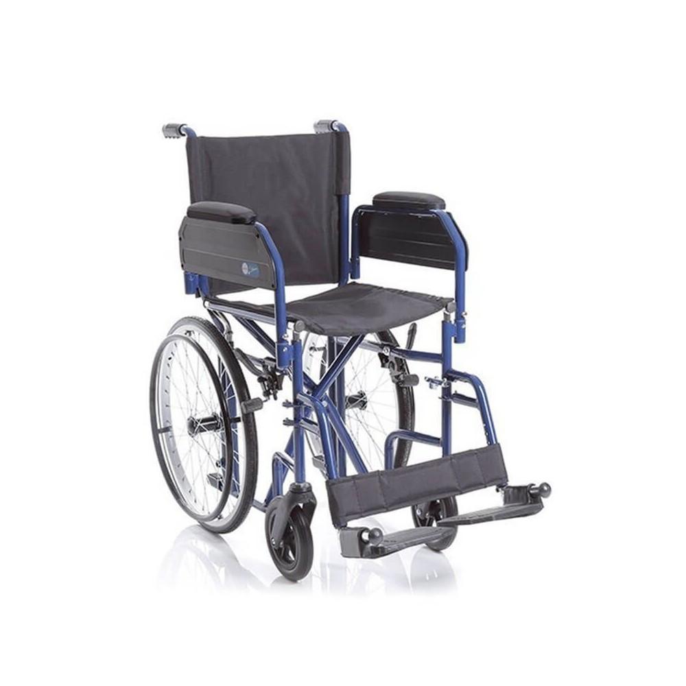 CP620 Skinny - Carucior cu rotile pliabil transport pacienti, actionare manuala
