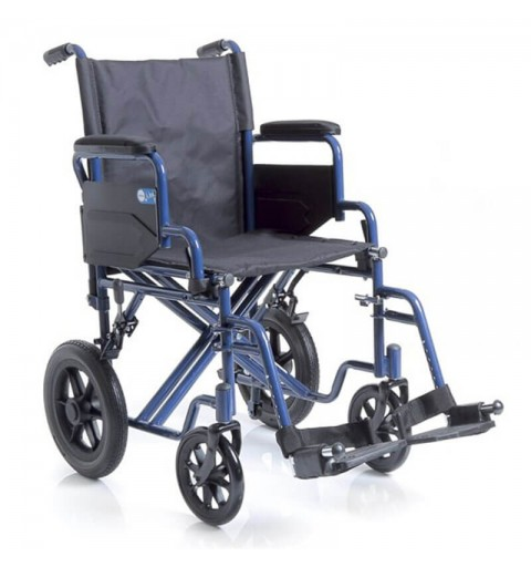 MCP115 Next Go - Carucior cu rotile pliabil transport pacienti, tranzit - 150 kg