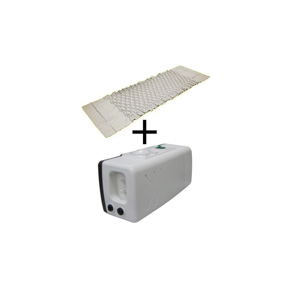 Sistem antidecubit format din Saltea de tip fagure cu Compresor