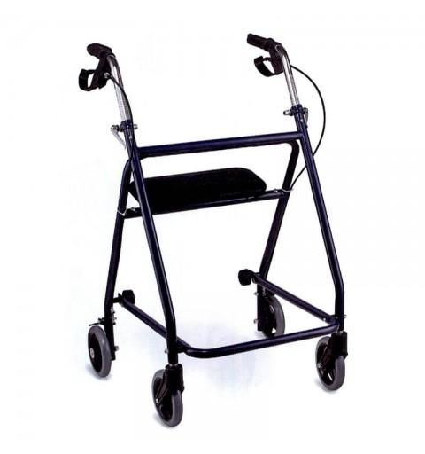 FS9621 - Rolator cu 4 roti, frana si scaun