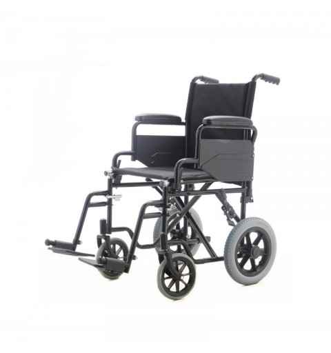 YJ-005G - Carucior cu rotile pliabil tip tranzit, transport pacienti - 110 kg