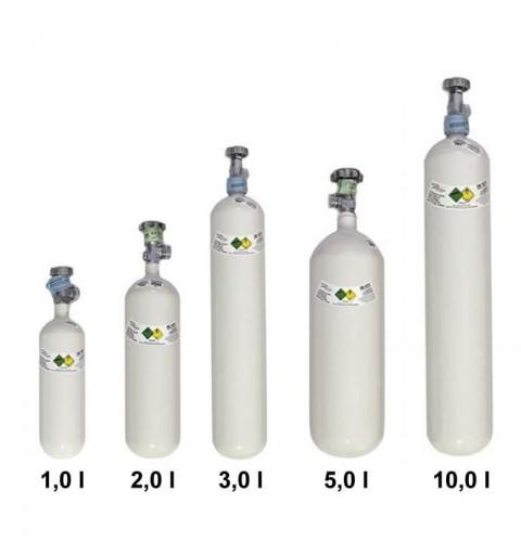 Butelii pentru oxigen, din aluminiu, cu capacitate 1L, 2L, 3l, 5L si 10L - Luxfer