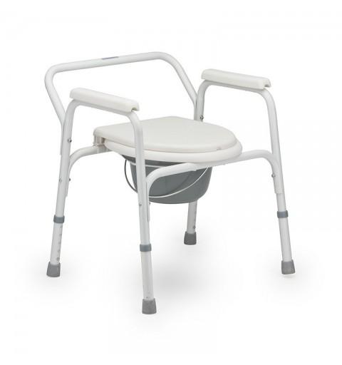 FS810L - Scaun WC de camera 4 in 1, din aluminiu
