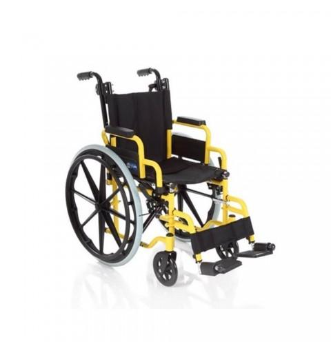 Carucior cu rotile, transport copii, actionare manuala - CP880-35