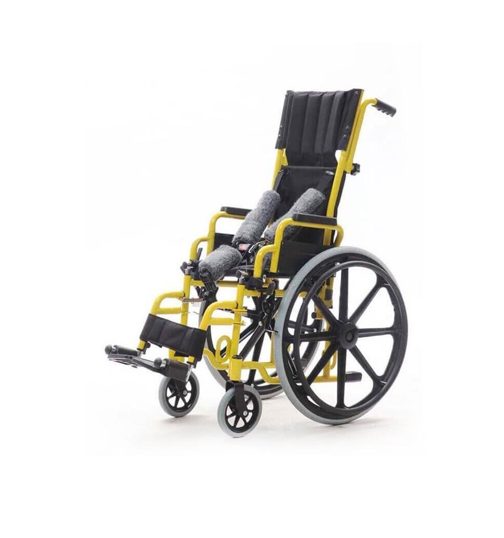Carucior cu rotile, pentru copii, actionare manuala - YJ-013E