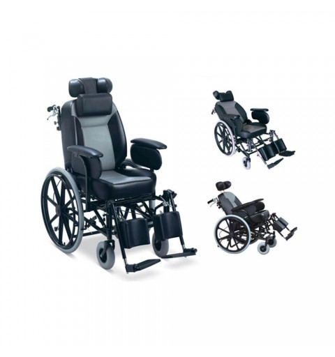 Carucior cu rotile, actionare manuala - FS204BJ