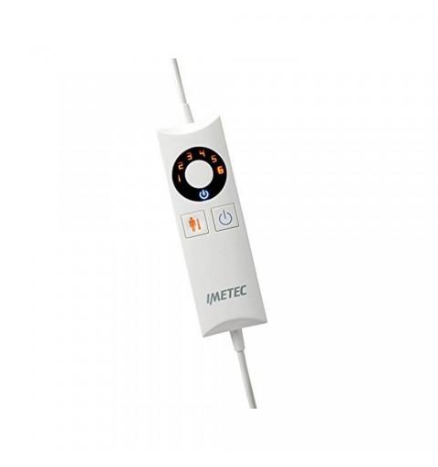 Patura electrica din microfibra, pentru doua persoane, 150 x 90 cm, 6 trepte de temperatura - Relaxy TH-01