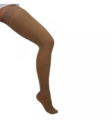 Ciorapi cu compresie de 20-30 mmHg pana la coapsa cu varful inchis - ARS02A