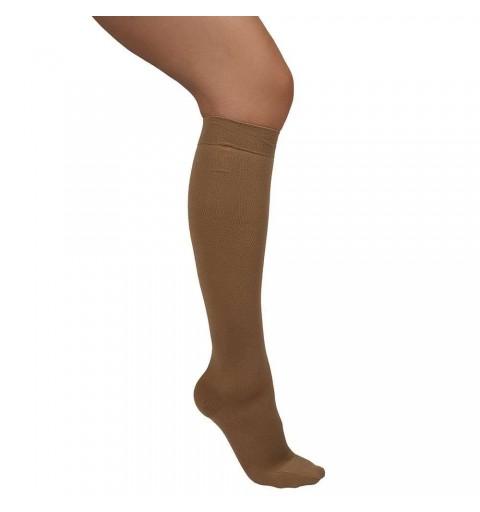 Ciorapi cu compresie de 20-30 mmHg pana la genunchi, cu varful inchis - ARS01A