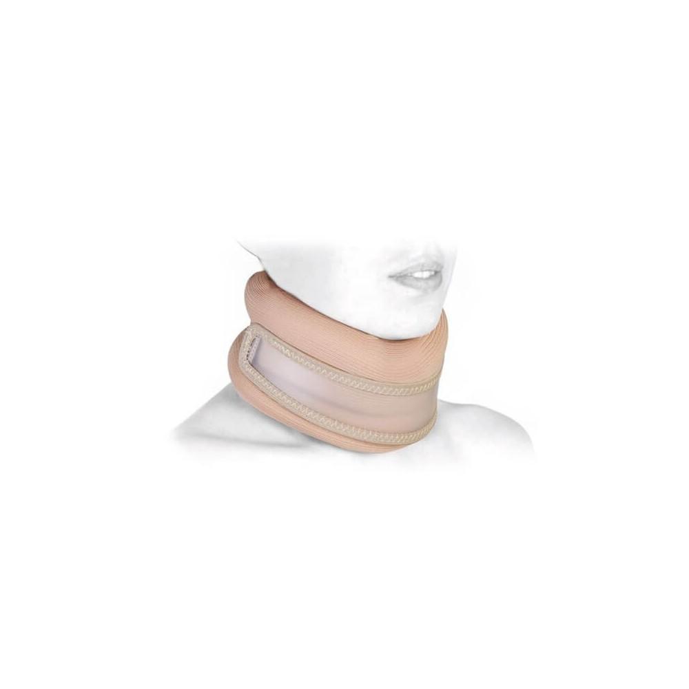 Guler cervical, semi rigid, cu insertie din plastic - RP184