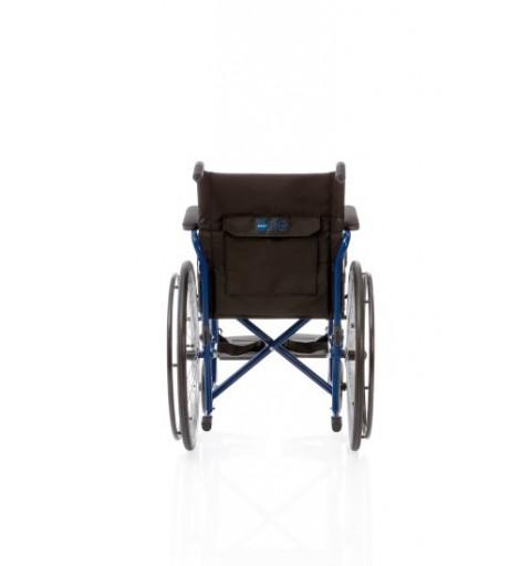 Carucior cu rotile cu actionare manuala, cadru albastru - CP100 Start
